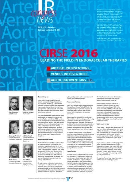 CIRSE 2016 - Saturday