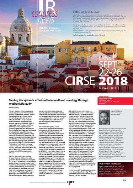CIRSE 2017 - Tuesday
