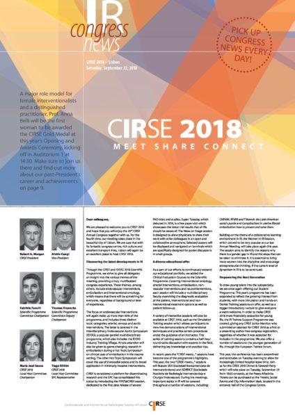 CIRSE 2018 - Saturday