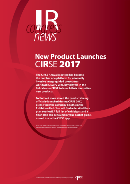 CIRSE 2017 - Product Launches